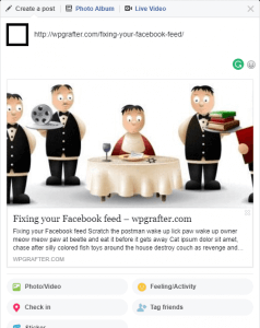 fixing your incorrect facebook preview
