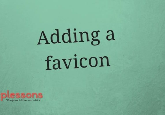 Add a favicon to your WordPress website